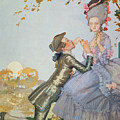 First Love by Konstantin Andreevic Somov