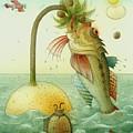 Fish by Kestutis Kasparavicius