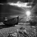 Fishing Boat Graveyard 7 by Meirion Matthias