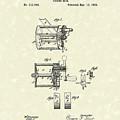 Fishing Reel 1885 Patent Art by Prior Art Design