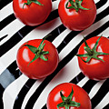 Five Tomatoes  by Garry Gay