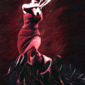 Flamenco Swirl by James Shepherd