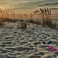 Flipflops On The Beach by Michael Thomas