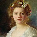 Flora by Gustave Jacquet