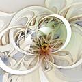 Floral Swirls by Amanda Moore