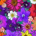 Flower Pond Vertical by JQ Licensing