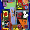 Flowers Study 1 by Teddy Campagna