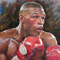 Floyd Mayweather Jr by Ylli Haruni