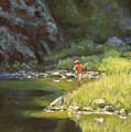Fly Fishing by Billie Colson