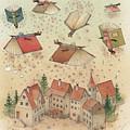 Flying Books by Kestutis Kasparavicius