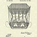 Flying Machine 1880 Patent Art by Prior Art Design