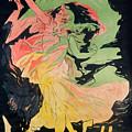 Folies Bergeres by Jules Cheret