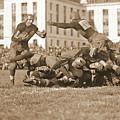 Football Play 1920 Sepia