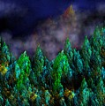 Forest Primeval Print by David Lane
