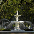 Forsyth Fountain 1858 by David Lee Thompson