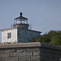 Fort Taber Lighthouse by David Gordon