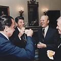 Four Presidents Nixon Reagan Ford by Everett