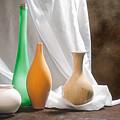 Four Vases II by Tom Mc Nemar