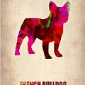 French Bulldog Poster by Naxart Studio