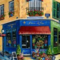 French Flower Shop by Marilyn Dunlap
