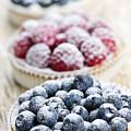 Fresh Berry Tarts by Elena Elisseeva