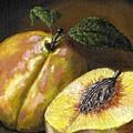 Fresh Peaches by Adam Zebediah Joseph