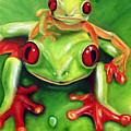 Frog Rodeo by Darlene Green