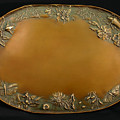 From The Foothills Bronze Tray by Dawn Senior-Trask