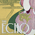 Front Cover Of The Echo by William Bradley
