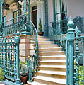 Front Steps To John Rutledge Home by Steven Ainsworth