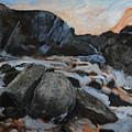 Frozen Waterfall by Harry Robertson
