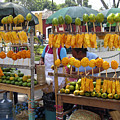 Fruit Stand Antigua  Guatemala by Kurt Van Wagner