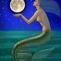 Full Moon Mermaid by Sue Halstenberg