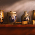 Furniture - Shelf - Family Heirlooms  by Mike Savad