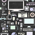 Gadgets Icon by Setsiri Silapasuwanchai