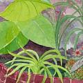 Garden Scene 9-21-10 by Fred Jinkins