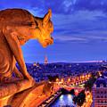 Gargoyle De Paris by Traumlichtfabrik
