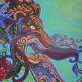 Gargoyle Lion by Genevieve Esson