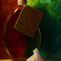 Garlic And Oil by Shannon Grissom