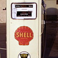 Gas Pump Print by Michael Peychich