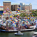 Gasparilla And Harbor Island Florida by David Lee Thompson