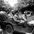 General Eisenhower In A Jeep by War Is Hell Store