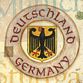 German Coat Of Arms by Debbie DeWitt