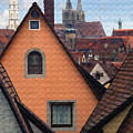 German Rooftops by Sharon Foster