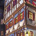 Germany Ulm Old Street by Yuriy  Shevchuk