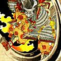 Ghost Of Warrior Tomomori 1880 by Padre Art