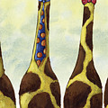 Giraffe Neckties by Christy Beckwith