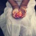 Girl Is Holding A Heart by Joana Kruse