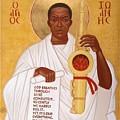 God Breathes Through The Holy Horn Of St. John Coltrane. by Mark Dukes