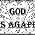 God Is Love - Agape by Glenn McCarthy Art and Photography